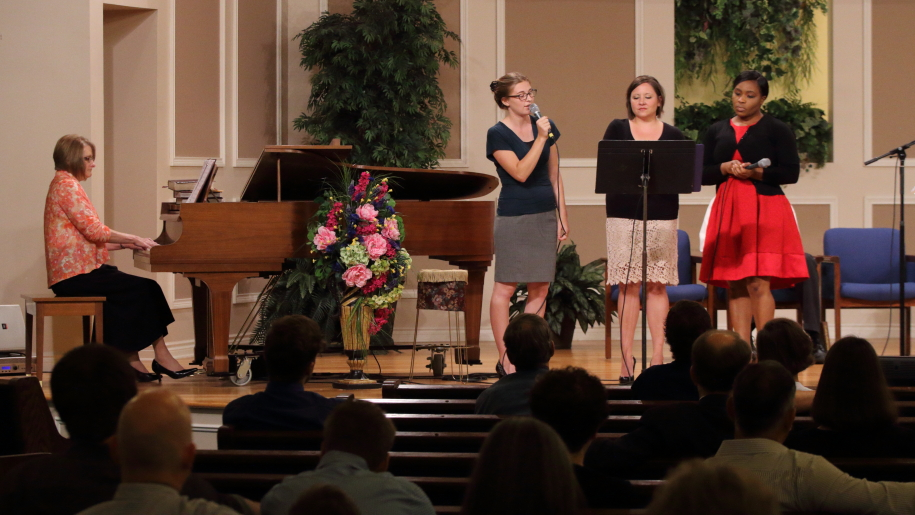 Special Music with Beth Bartlett, Taylor Fruth, Jenny Smith, and Winnie Chambwa
