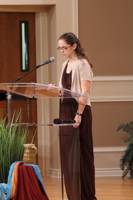 Anna Quigley shares her testimony.