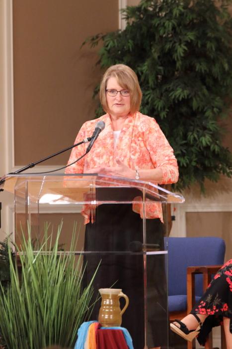 Beth Bartlett shares her testimony.